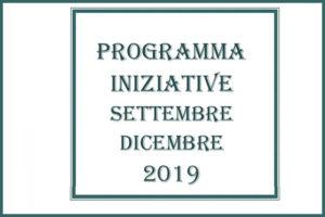 Programma II sem. 2019